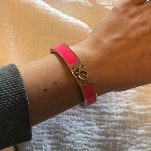 NWOT Kate spade hot pink bracelet!